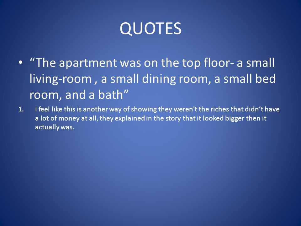 The great gatsby chapter 2 ppt video online download for Small room quotes