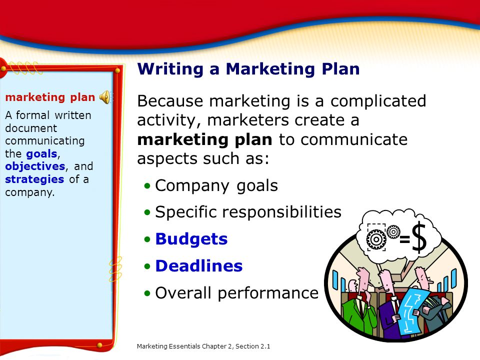Chapter  The Marketing Plan  Ppt Download