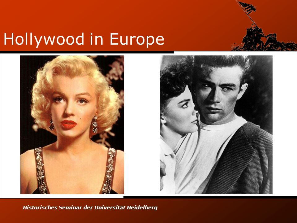 Hollywood in Europe Historisches Seminar der Universität Heidelberg