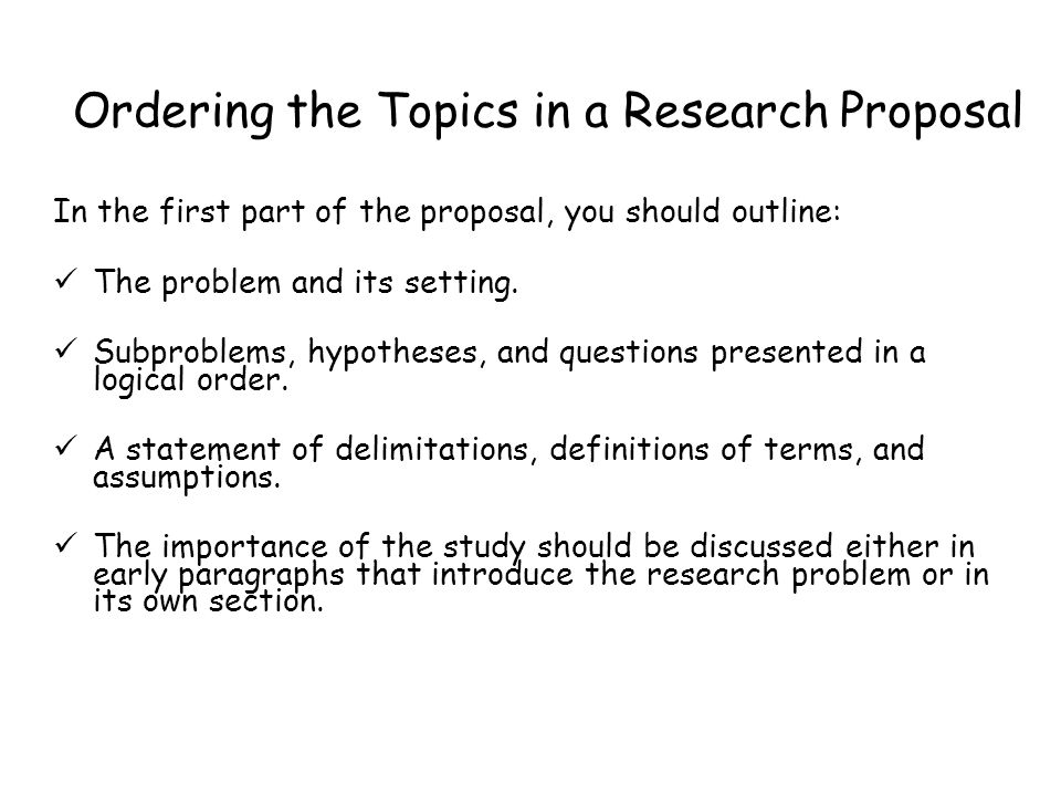How To Write Research Proposal Recreation Management A4 British