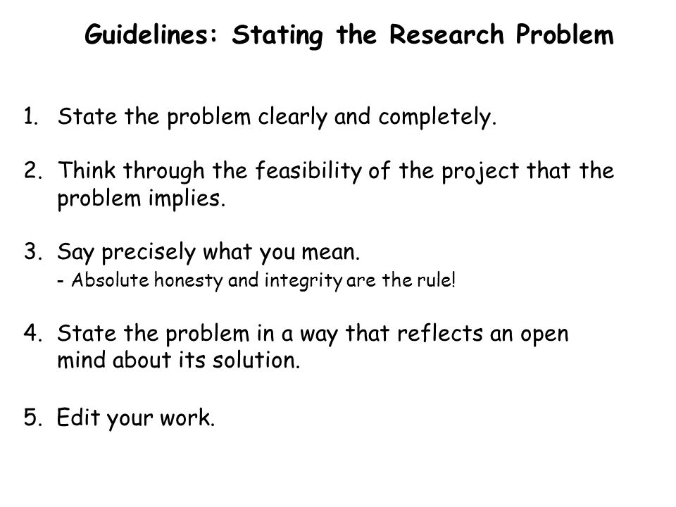 The Heart Of The Research Process Ppt Video Online Download