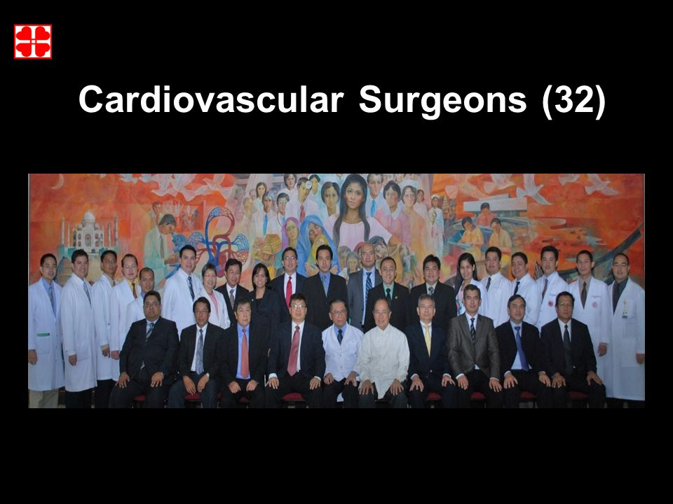 9 Cardiovascular Surgeons (32)