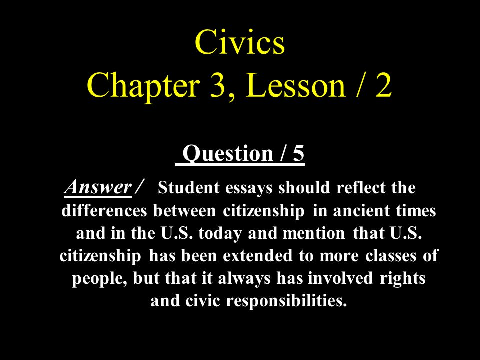 civics project essay Free essay: cumulating project for rdg 543 part one: essay on culminating project for rdg more about essay on culminating project for rdg 543 civics.