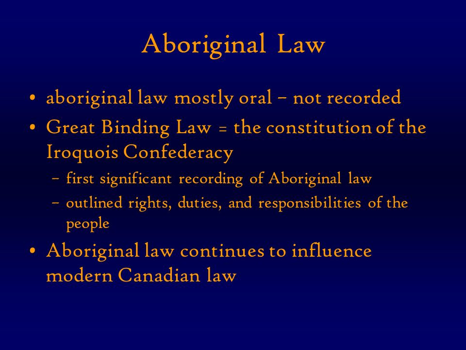 influences on canadian law Who influenced canadian polices who original introduced the concept of punishment they say, for every do work in that location is a consequence.