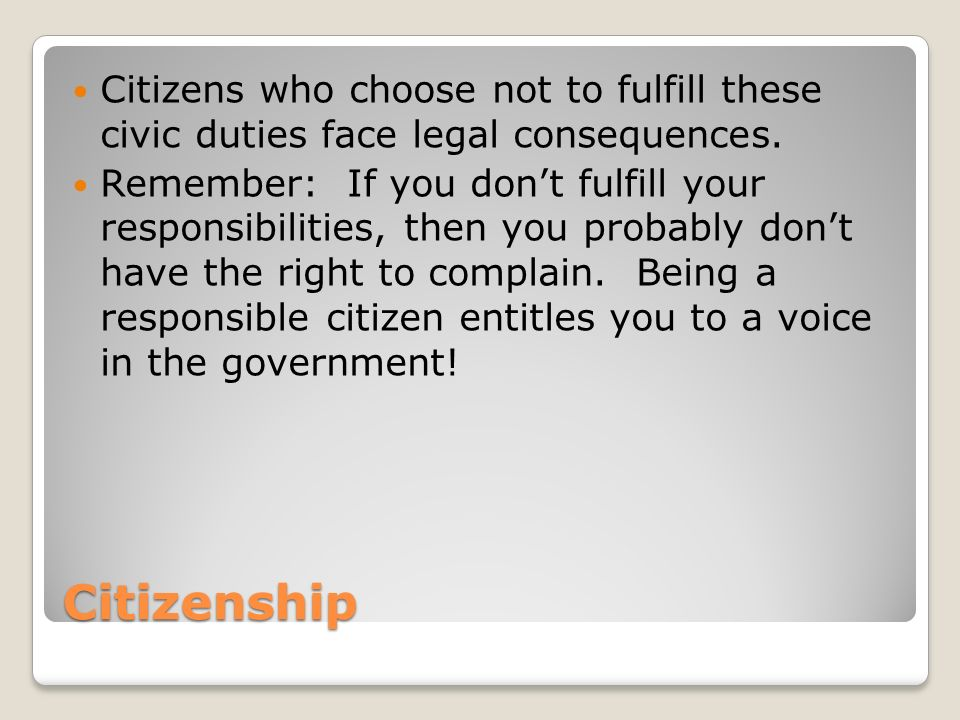 what does it mean to be a citizen essay