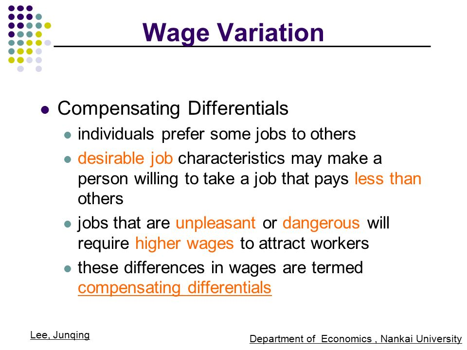 compensating wages for dangerous job workers Workers' compensation, job hazards, and wages  wages and the costs of workers' compensation a well-established prediction of  competitive-wage theory is that  differentials received by workers on dangerous jobs, journal of human resources, vol 16, no 2 (spring.
