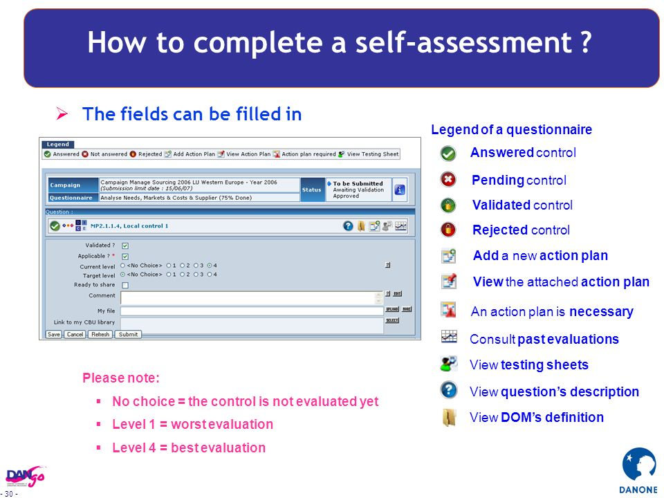 how to complete self evaluation at work