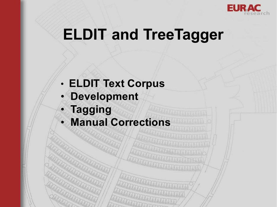 ELDIT and TreeTagger Development Tagging Manual Corrections