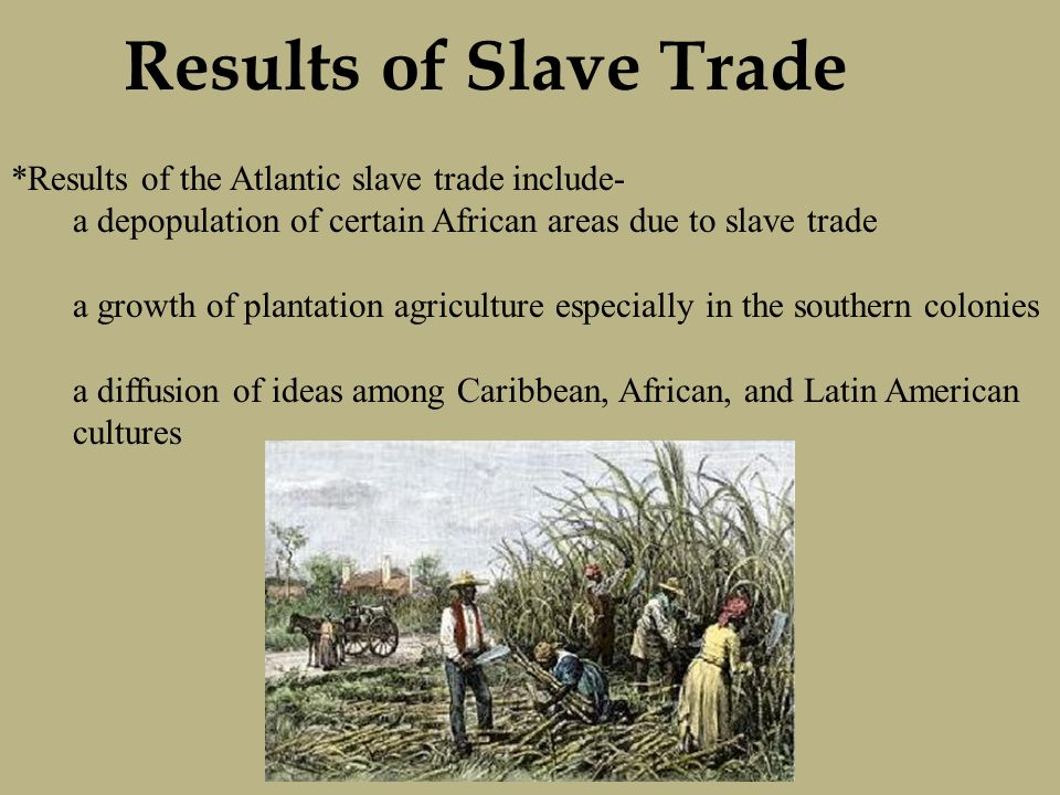 slave trade depopulation of africa Slave trade in and between europe and africa before and after 1550 the objective of this work is to answer the questions of (1)  slave trade depopulation of africa.