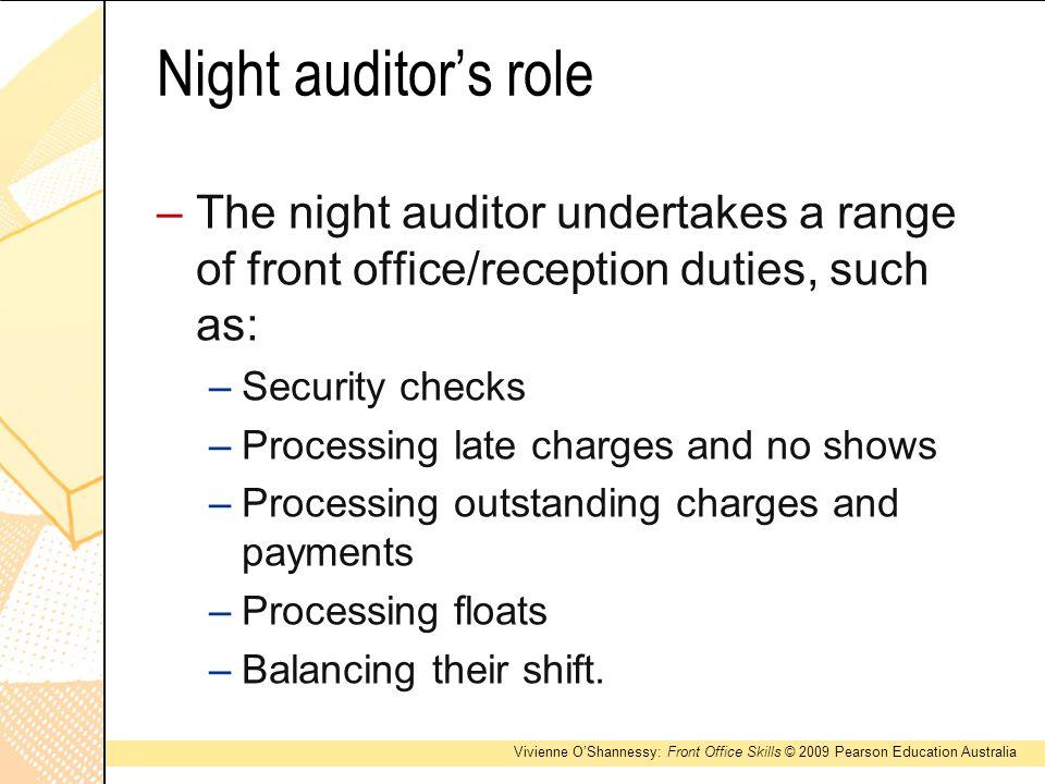 6 night auditors night auditor duties