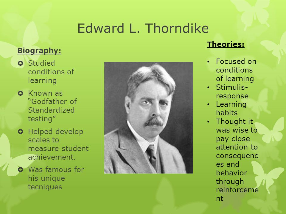 Theories and Theorists - ppt download