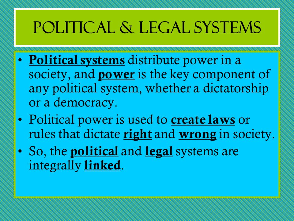 political and legal system In recent times no single political party has been  the influence of the british judicial system  click doing business in india - a legal.
