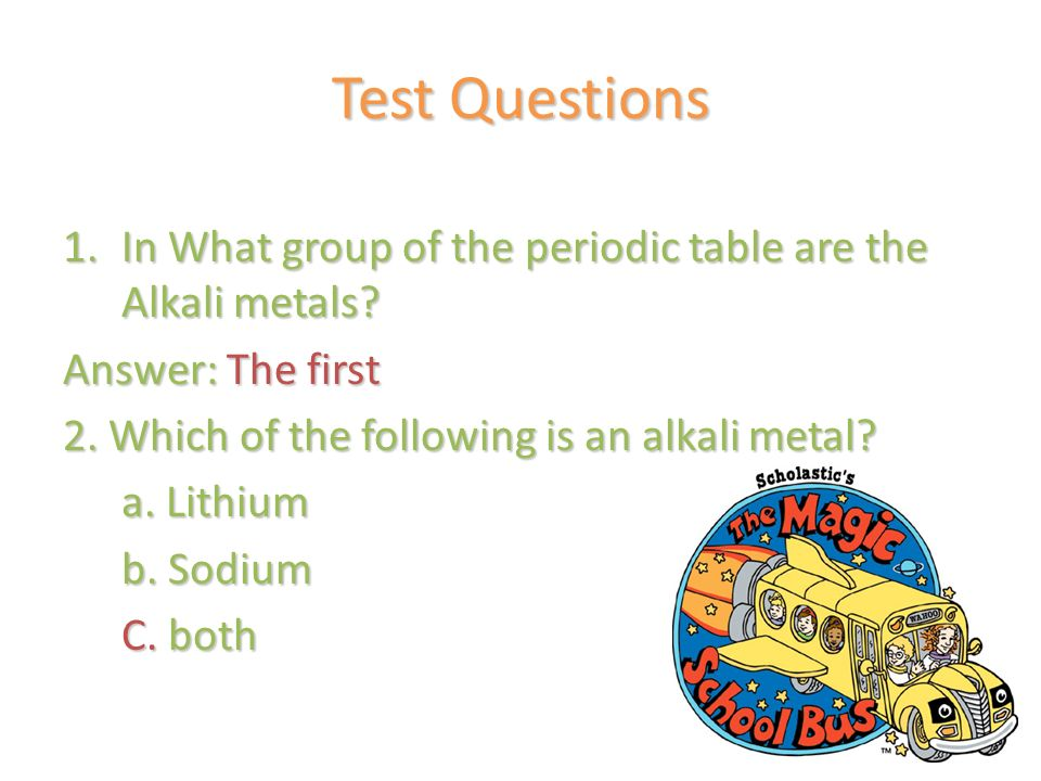 metal questions and answers