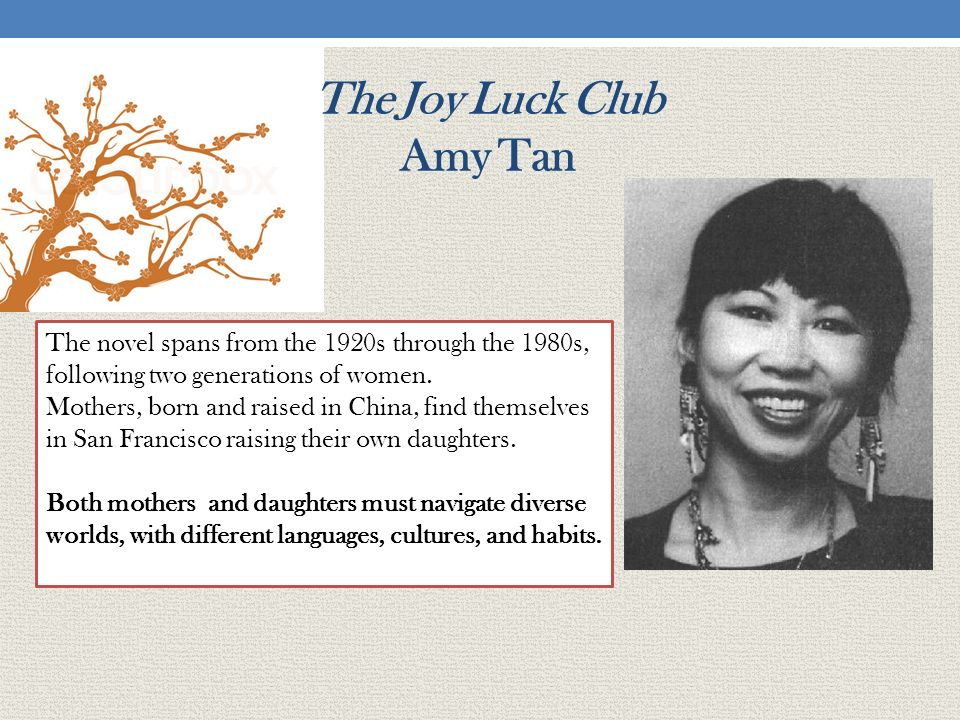 I Called Amy Tan A Dirty Word--And Then She Friended Me