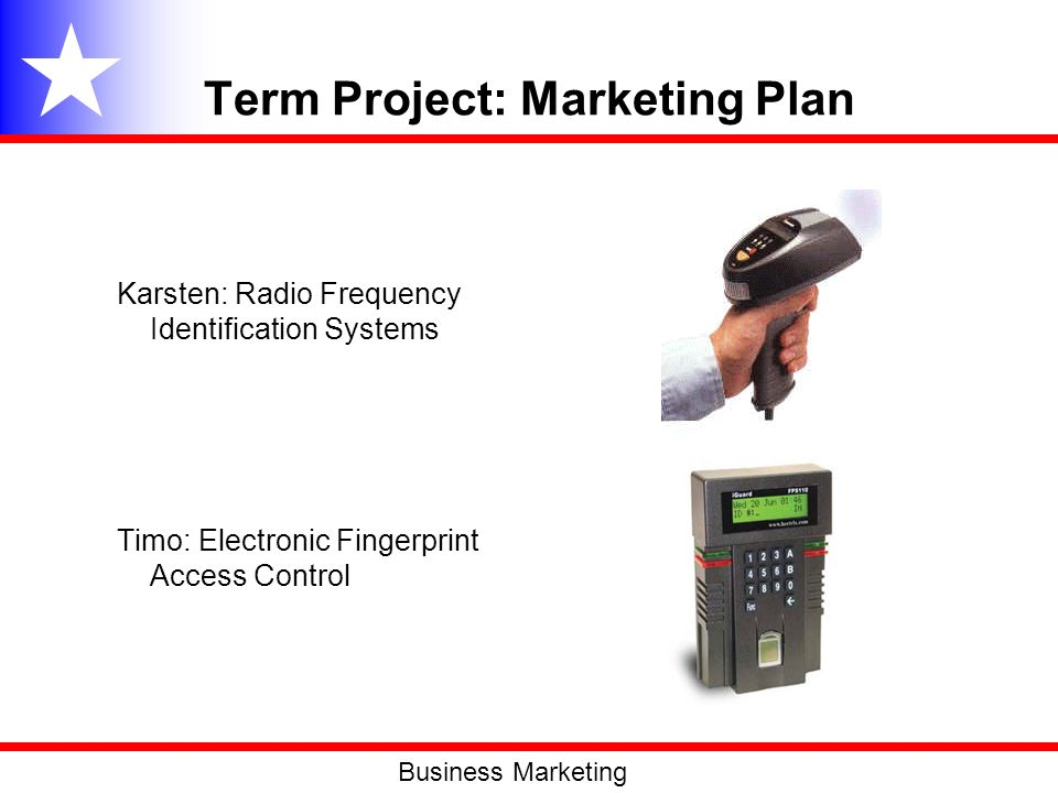 Term Project: Marketing Plan