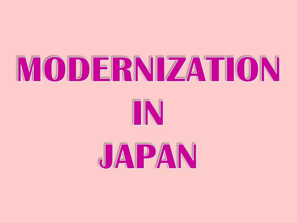 modernization of korea by japan Japanese military modernization: in search of a structural pressures manifested in the perceived threats from north korea and china japan's next decade of.