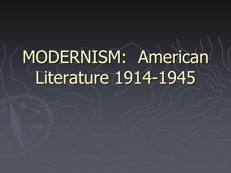 Modernism writing