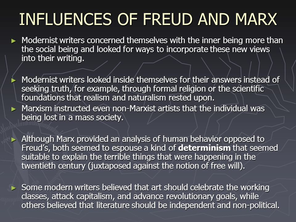 a comparison of freud and marx in human nature What is marx's view of human nature what is nietzsche's view of it and how do they disagree please helpi have a basic idea, but i can use a good explanation.