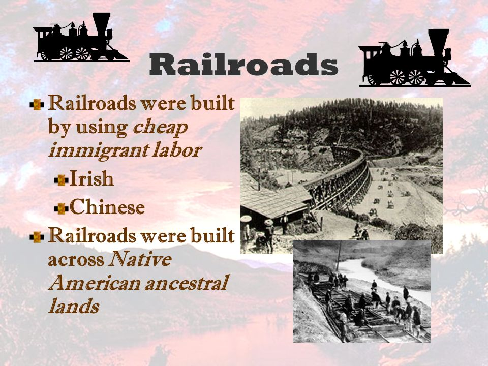 railroads impact in the united states essay Transcontinental railroad affect western expansion in the united states essay sample thesis: the transcontinental railroad greatly increased westward expansion in the united states of america during the latter half of the nineteenth century.