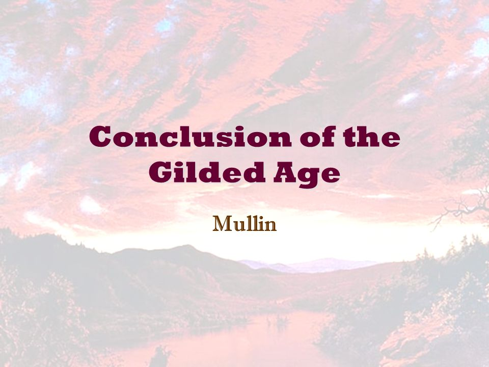 a discussion about politics in the gilded age The gilded age and progressive reform key terms civil service primary recall initiative • identify the problems in american politics during the gilded age.