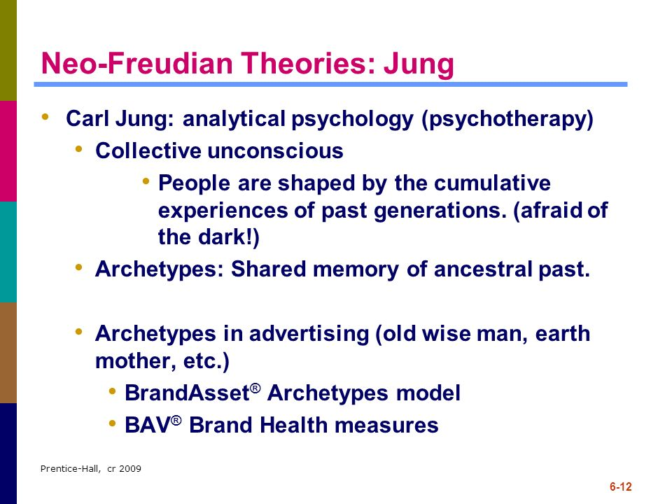 Neo-Freudian Theories: Jung