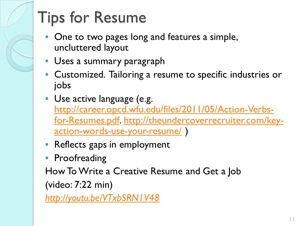 lib330 job hunting on the www ppt download