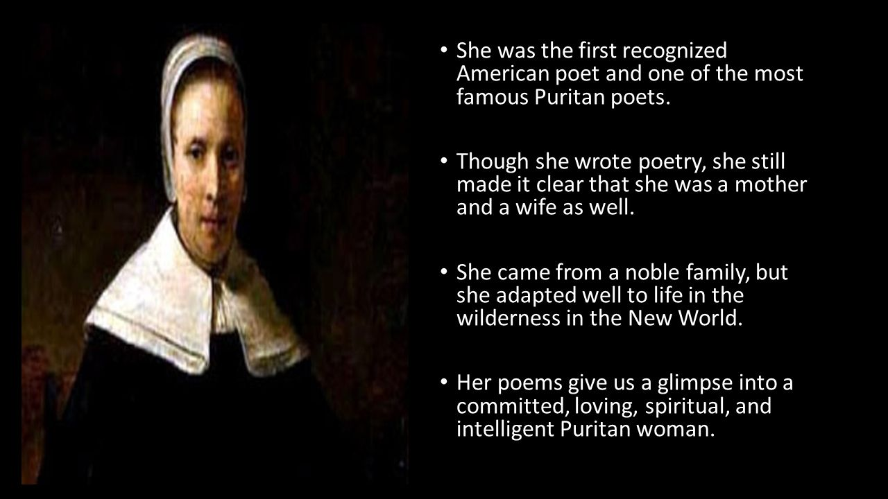 puritan writers Under the educational elites the writers of textbooks quickly learn what elements of history to  the history of the puritans has not ended puritan.