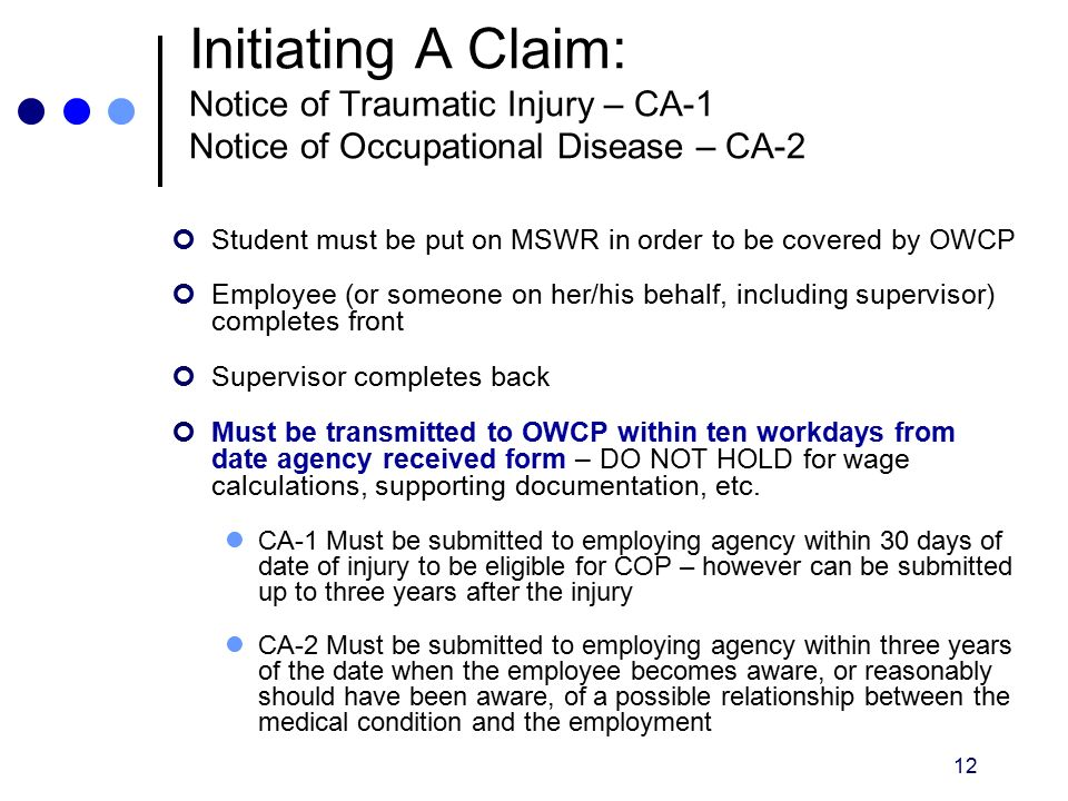 Office of Workers' Compensation Programs (OWCP) - ppt video online ...