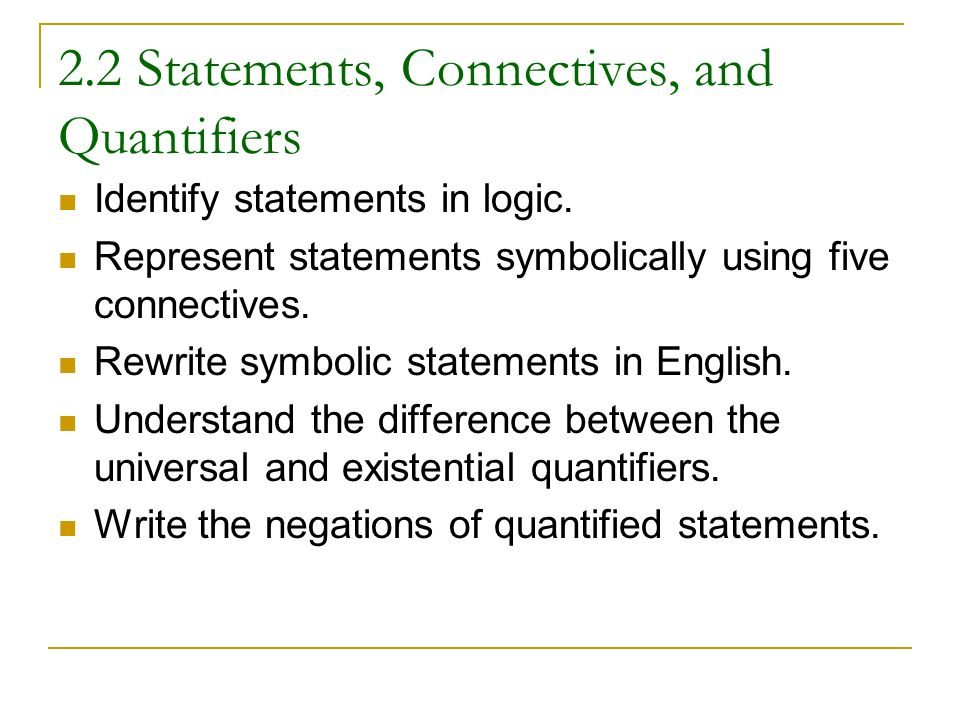 relationship between universal and existential quantifiers