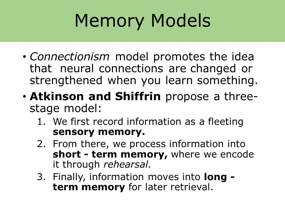 Introduction To Memory Ppt Download