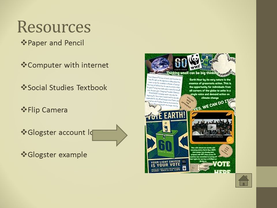 Resources Paper and Pencil Computer with internet