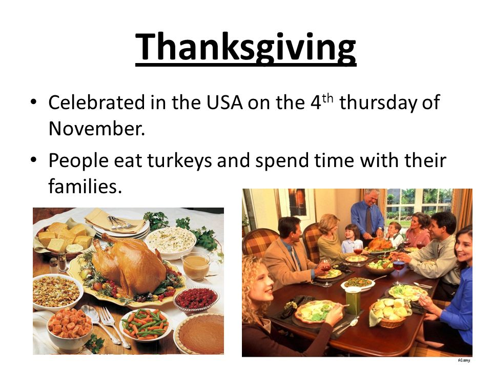 Special events around the world ppt download for What do people eat on thanksgiving