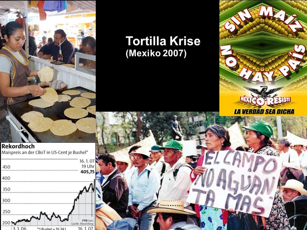 Tortilla Krise (Mexiko 2007)