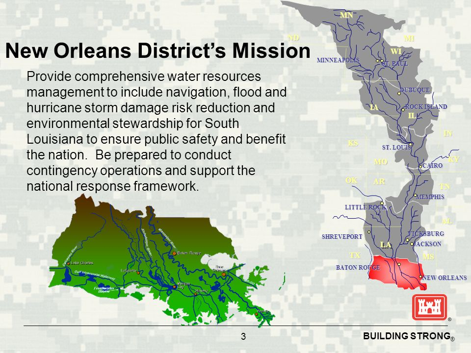 New Orleans District's Mission