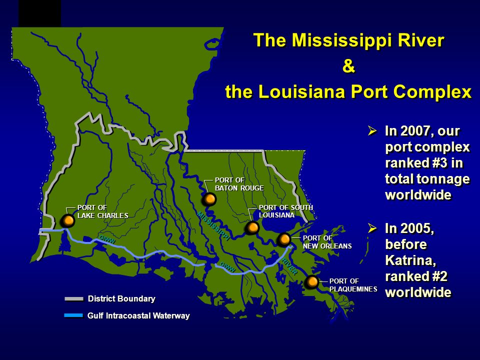 the Louisiana Port Complex