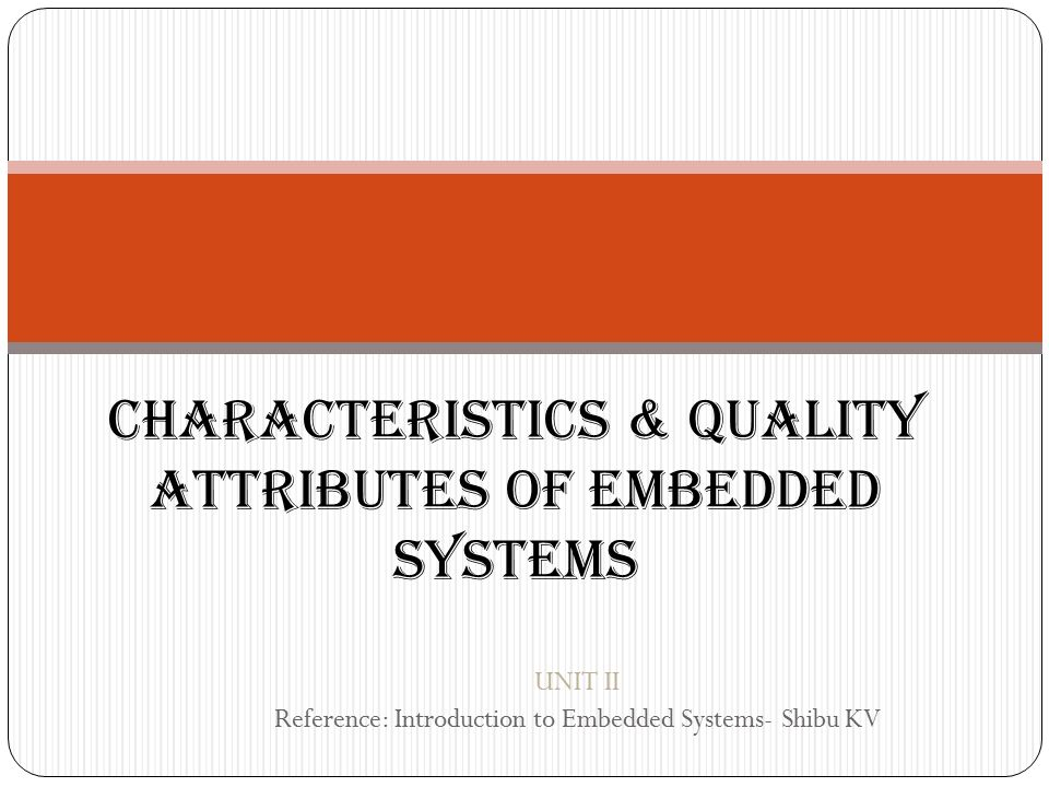 introduction to embedded systems shibu pdf