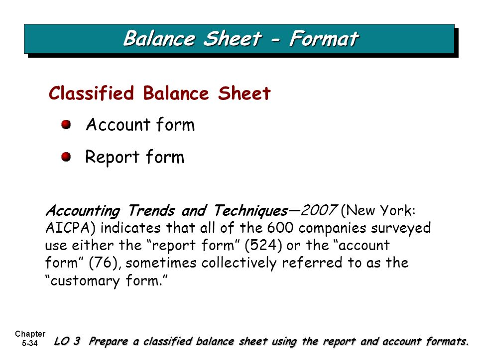 balance sheet good form