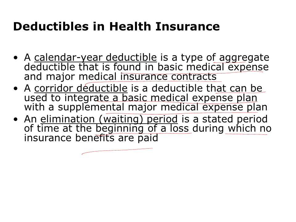 Calendar Year Health Insurance : Analysis of insurance contracts ppt video online download