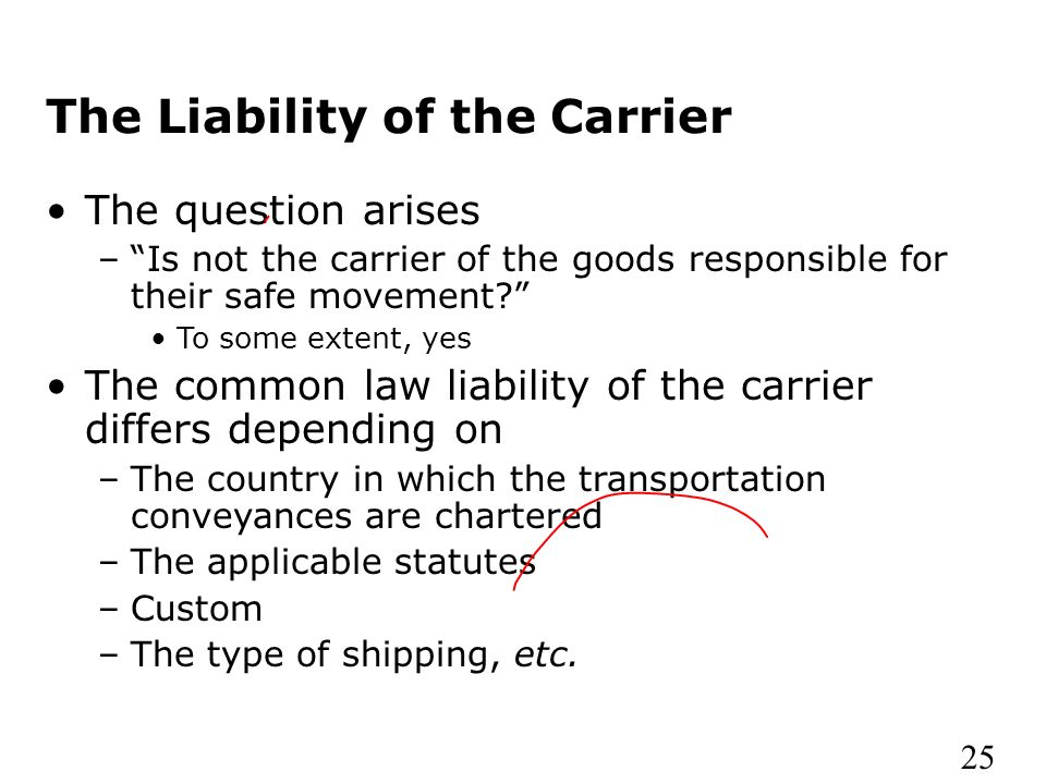 a report on the common carriage of goods Seaworthiness under carriage of goods by sea due to the impact of such an obligation on  1- what the dp should report  the legal aspects of seaworthiness table.