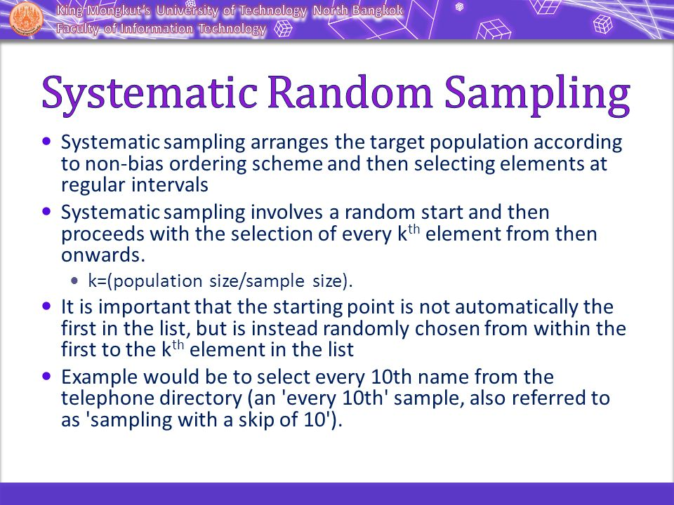 example of random sampling in healthcare Sampling plays a major role in quality improvement work random sampling (assumed by most traditiona.