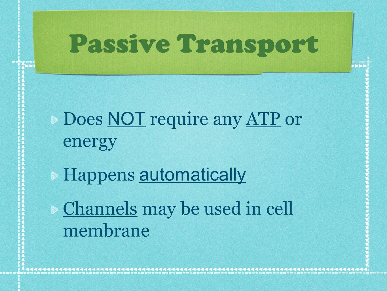 4 things cells do to maintain homeostasis - Maintaining Homeostasis 2 Passive