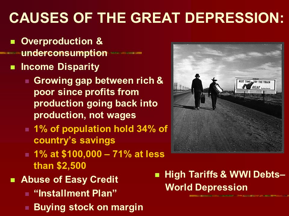 The Roaring Twenties To The Great Depression Ppt Download