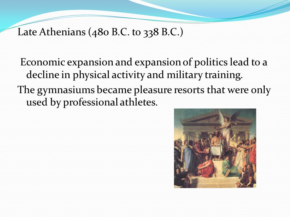 Late Athenians (480 B. C. to 338 B. C