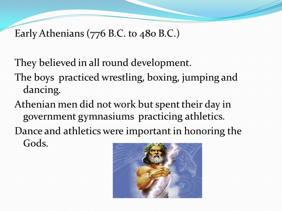 Early Athenians (776 B. C. to 480 B. C