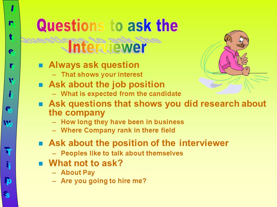 what questions to ask on an interview