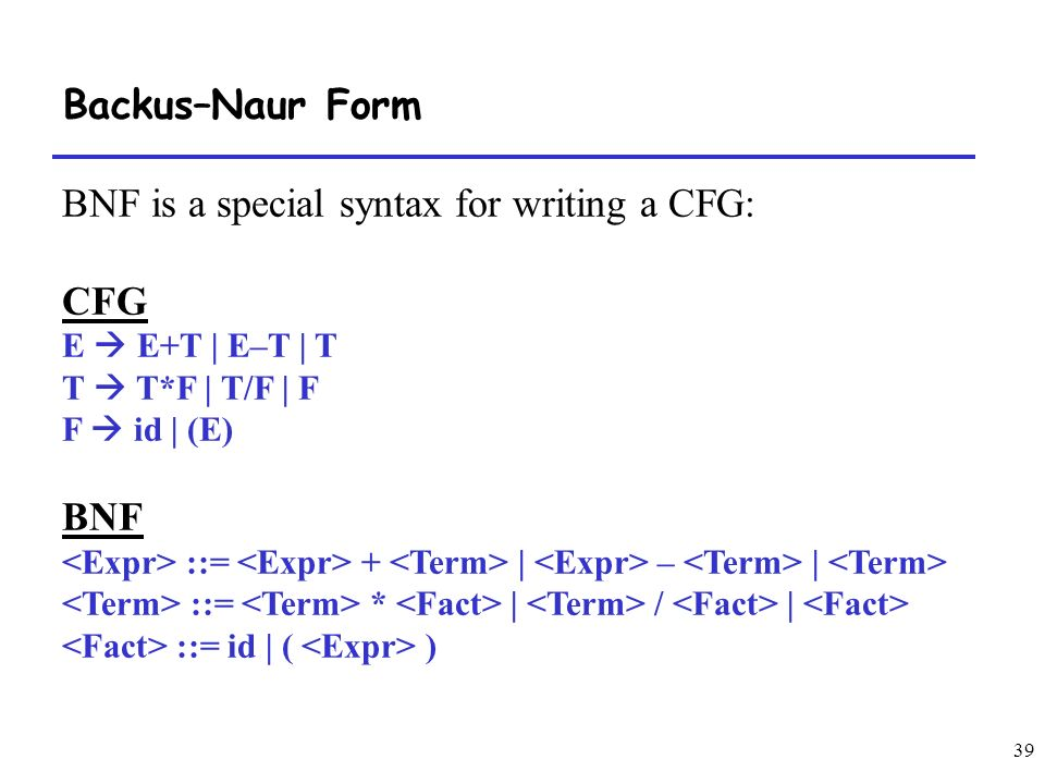 syntax in writing