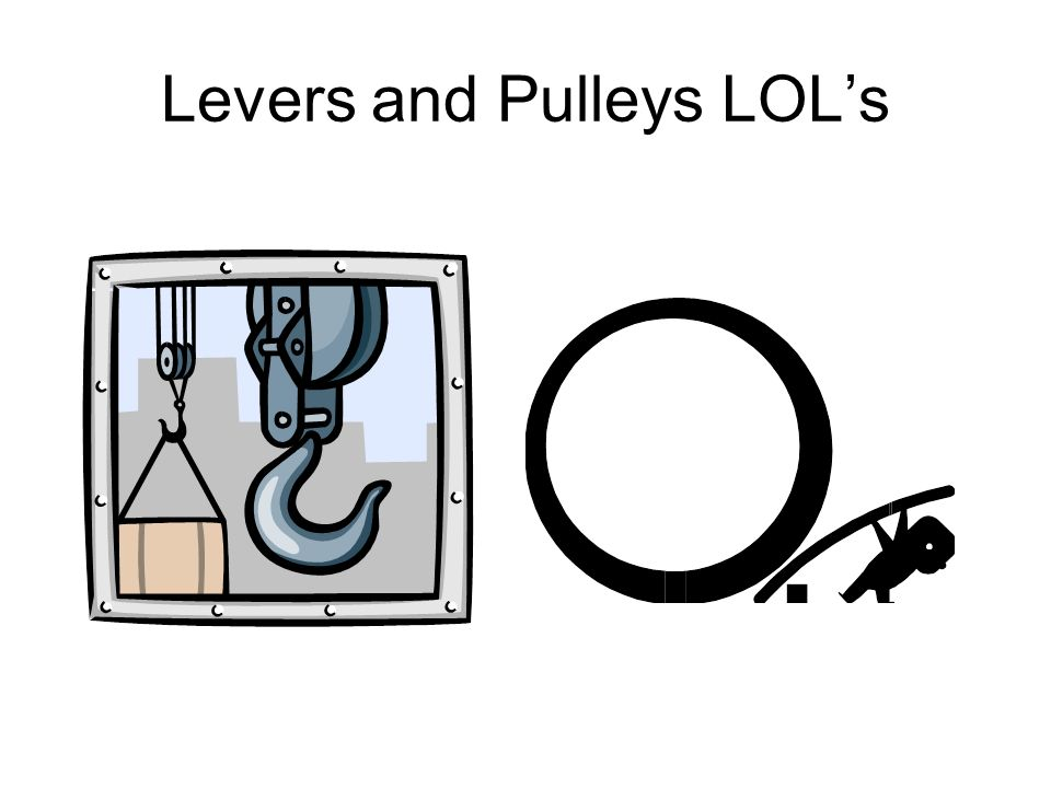 Levers and Pulleys LOL's - ppt download