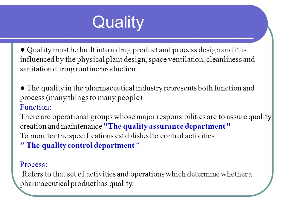 quality and productivity relationship