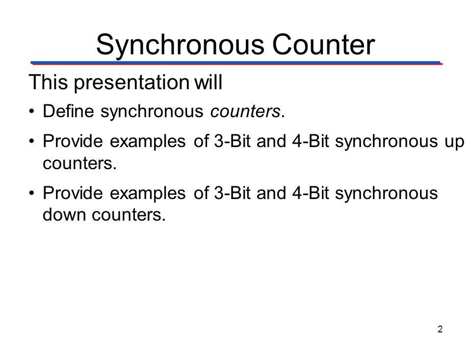 Synchronous counters with ssi gates ppt video online for Couter definition