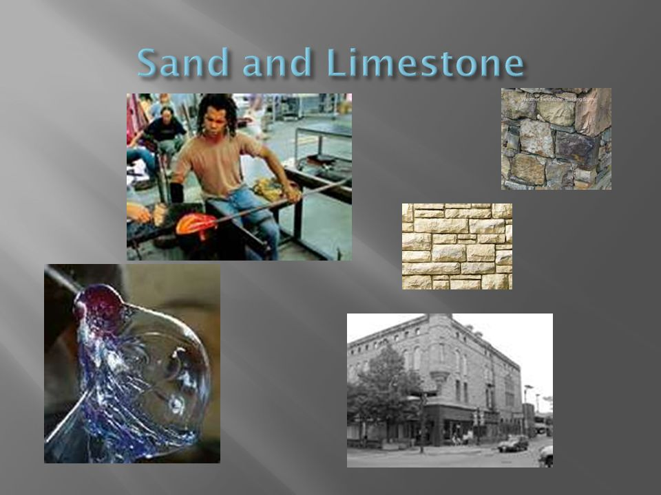 Sand and Limestone